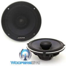 "ALPINE X-S65 6.5"" 330W LOUD TYPE X COAXIAL CARBON GRAPHITE TWEETERS SPEAKERS NEW"