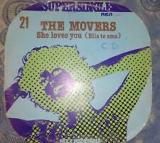 "THE MOVERS- SHE LOVES YOU MAXI 12""(1977 RCA) MUSICA DISCO EX/VG-"