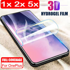 For OnePlus 7 Pro Full Cover Hydrogel Clear Soft TPU Film Screen Protector Sl
