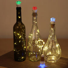 Hot USB LED Fairy Light Cork Lamp Wine Bottle Stopper Rechargeable Night Lights