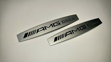 Mercedes AMG Edition Emblem Badge Left and Right Side Sticker Metal 2 pcs SET