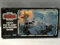 Used Star Wars Empire Strikes Back Hoth Ice Planet Adventure Game w Vint Poster