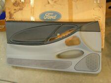 NOS OEM Ford 1994 1998 Mustang Door Panel 1995 1996 1997 GT V6 Grey + Black LP