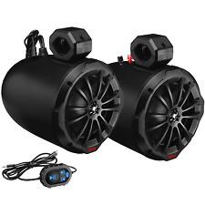 """Boss Audio BOSS-B82ABT Waketower Speakers, 8"""" w/Amp, Bluetooth"""