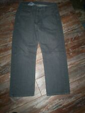 MENS SIZE W32 L30 LEVI'S 569 LOOSE FIT GRAY BLUE JEANS VERY NICE