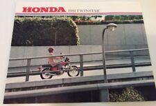 1981 TWINSTAR Honda Original Sales Brochure  Scooter Moped Motorcycle