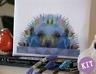 Geometric Hedgehog - Low Poly Art - Cross Stitch Kit