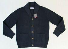 Charles Tyrwhitt Men's Lambswool Shawl Collar Cardigan BP4 Navy Medium NWT