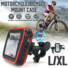 New listing Motorcycle Bike Bicycle Handlebar Mount Cell Phone Gps Case Hol