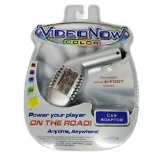 VideoNow Color Car Adapter w 6 Ft Power Cord Rare Brand New Sealed