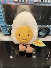 JellyCat amuseables huevo duro suave juguete nuevo