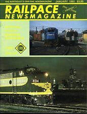 Railpace NewsMagazine January 1991 Vol 10 No 1 Conrail's Danbury Secondary