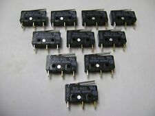 10 NEW OMRON SS-5GL 5A125VAC / 3A250AC MICRO SWITCHES A5