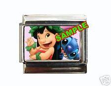 Lilo and Stitch #3 Disney Custom Italian Charm cute!