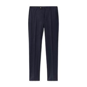 Men's Hackett Mayfair Stretch Flannel Trousers in Navy