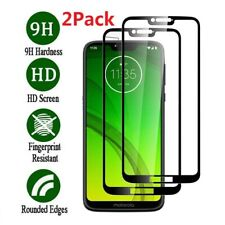 For Motorola Moto G7 Power High Clarity Full Coverage Glass Screen Protector