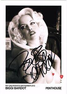 Biggi Bardot *** Model *** Original signiert *** #800