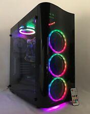 Gaming PC Computer Desktop RGB Intel i7 3.40,16GB, 2T, 120SSD, WIFI,GTX 1060 3GB