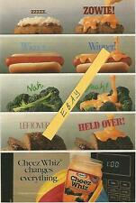 1990 KRAFT CHEEZ WHIZ WIZ TV GUIDE AD CLIPPING CHANGES EVERYTHING!