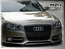 P-Type Carbon Fiber Front Lip For Audi S4 B8 2010-2011 Pre-Facelift Model Only