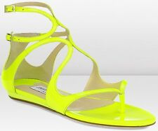 NEUF Jimmy Choo Taille 6 lance Neon Sandels