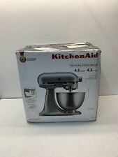 KitchenAid KSM75SL Classic Plus 4.5-Qt. Tilt-Head Stand Mixer Silver BRAND NEW