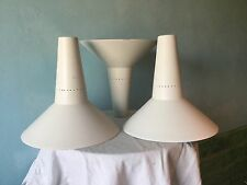 Vintage Aluminium Angle Lamp Shade. Adjustable poise Track Lighting Light Shade