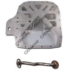 CXRacing Aluminum Rear Sump Oil Pan for RX7 FC 13B Rotary Engine Datsun 510 Swap