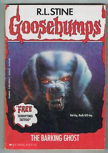 GOOSEBUMPS, THE BARKING GHOST#32, 1ST EDITION USA, VGC,  UNREAD.