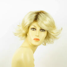 short wig for women very clear golden blond ref: FLORE ys PERUK