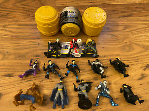 """SPIN MASTER BATMAN MYSTERY MINI FIGURES The Caped Crusader DC Comics New 2"""""""