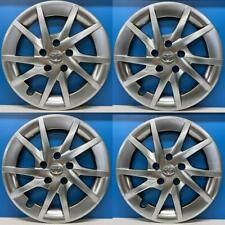 """2014-2018 Toyota Prius V # 61165H 16"""" Hubcaps / Wheel Covers Hyper Silver SET/4"""
