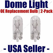 Dome Light Bulb 2-Pack OE Replacement - Fits Listed Volvo Vehicles - 2821
