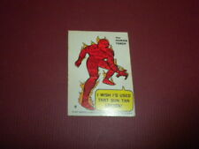 Marvel Comics Super Hero Sticker/card #9 1967 Philadelphia Gum PCGC