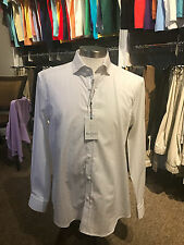 "Robert Graham Tailored Fit Shirt NWT - Men's M- White Damask with Skulls ""DEVEN"""