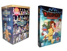 Digimon: The Complete Series Seasons 1-5 (DVD, 40-Disc Set) 1 2 3 4 5