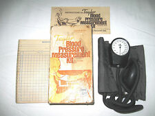 Taylor Blood Pressure Monitoring Kit Original Box Vintage Model HR18104-7052-03