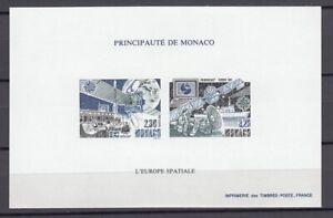 EUROPA CEPT Monaco 1991 Sonderdruck postfrisch/** (MNH) - UNGEZÄHNT!!!