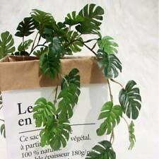 Artificial Fake Hanging Plant Foliage Willow Leaves Garland Leaves Home Decor KS