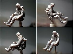 1/32 Scale German Pilots 54mm Model High Quality Resin Kit