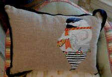 Mackenzie-Child'S My Little Chickadee Embroidered Pillow,New