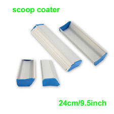 1 pc 24cm (9.5inch) Screen Printing Aluminum Emulsion Scoop Coater Tool Material