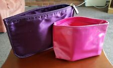 Make Up Wash Bags Cosmetic Toiletry Purse Case X 2 Brand New