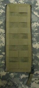GENUINE US USAF AIRSAVE SURVIVAL VEST LARGE MOLLE ZIP EXPANSION PANEL. COYOTE.
