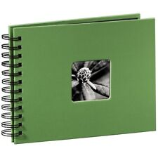 Fine Art Spiralbound Photo Album, 24cm x 17cm 50 Pages - Apple Green
