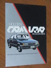 1982 Holden Camira original Australian Accessories foldout brochure