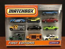 Matchbox 2010 First Editions 10 Pack Cadillac CTS Police Lancer Mustang Dela1150