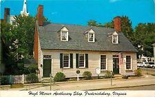 Fredericksburg VA~Hugh Mercer Apothecary Shop~Cars~Parking Meters~1978 Postcard