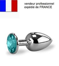 Plug Anal Gode Métal Bijoux Intime Rosebud  Sex Toys Expédié DE FRANCE