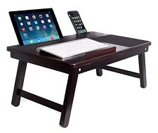 """New Laptop Bed Tray Stand Computer Notebook Desk 18"""" Foldable Portable"""